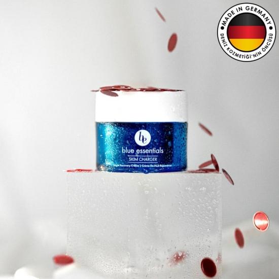 blue essential skin charger onarici gece kremi